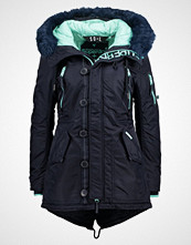 Superdry Parka navy/mint