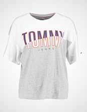 Tommy Jeans Tshirts med print bright white