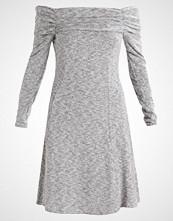 Dorothy Perkins Tall FOLDOVER BARDOT DRESS Sommerkjole grey