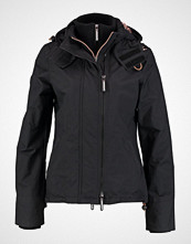 Superdry TECH ZIP  Lett jakke black/lurex gemstone
