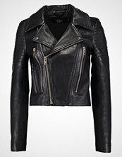 Vero Moda VMSAY YES SHORT LEATHER JACKET Skinnjakke black