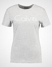 Calvin Klein TANYA Tshirts med print mottled light grey