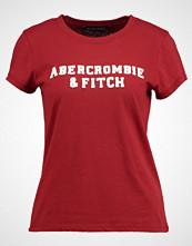 Abercrombie & Fitch SEASONAL LOGO TEE Tshirts med print dark red