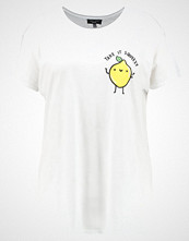 New Look Curves TAKE IT SQUEEZY TEE  Tshirts med print white