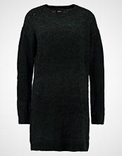 Object OBJOLIVIATI LIGHT DRESS Strikket kjole black
