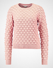 Miss Selfridge ALL OVER BOBBLE JUMPER Jumper blush pink