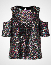 Dorothy Perkins MULTI SEQUIN COLD SHOULDER  Tshirts med print multi bright