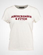 Abercrombie & Fitch SEASONAL LOGO TEE Tshirts med print white