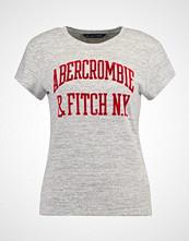 Abercrombie & Fitch COZY LOGO TEE Tshirts med print medium grey flat