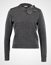 mint&berry JUMPER WITH KNOTDETAIL AT NECK Jumper metallic black