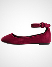 New Look Wide Fit WIDE FIT LOOPY Ballerina dark red