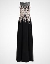 Luxuar Fashion Ballkjole schwarz/beige