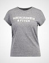 Abercrombie & Fitch SEASONAL LOGO TEE Tshirts med print dark grey