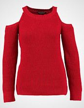 Dorothy Perkins COLD SHOULDER JUMPER Jumper red