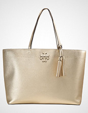 Tory Burch MCGRAW METALLIC TOTE Håndveske gold