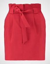 Miss Selfridge PAPERBAG WAIST SKIRT Miniskjørt red