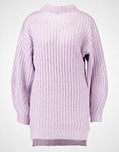 Miss Selfridge CHUNKY FUNNEL NECK BALLOON SLEEVE Jumper lilac