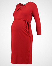 Anna Field MAMA Jerseykjole dark red