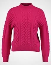 Karen Millen EYELET CABLE JUMPER Jumper pink