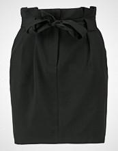 Miss Selfridge PAPERBAG WAIST SKIRT Miniskjørt black