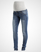 Mamalicious MLGOLDEN Slim fit jeans light blue denim