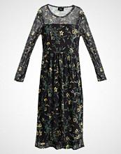 Object OBJMARIANNA LONG DRESS Sommerkjole black/yellow