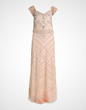 Frock and Frill DROP WAIST ALL OVER SEQUIN MAXI DRESS Ballkjole nude