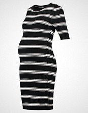 New Look Maternity Strikket kjole black pattern