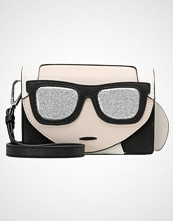Karl Lagerfeld IKONIK MINI CROSSBODY Skulderveske black