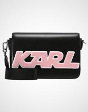 Karl Lagerfeld SPORTY SHOULDERBAG Skulderveske black