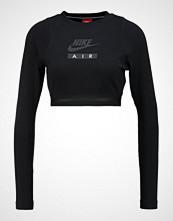Nike Sportswear CROP AIR Topper langermet black/black