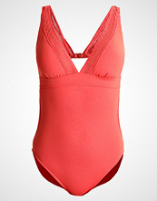 Seafolly WILD AT HEART V NECK MALLIOT Badedrakt spice