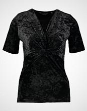 Dorothy Perkins TWIST FRONT Tshirts med print black