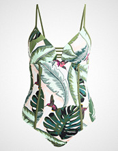 Seafolly PALM BEACH MAILLOT Badedrakt moss