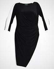 Lauren Ralph Lauren Woman MATTE TREVA TONE Jerseykjole black/lauren white
