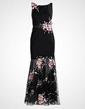 Luxuar Fashion Ballkjole schwarz/rosa