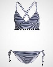 TWINTIP SET Bikini white/dark blue