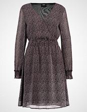 Object OBJSHERRY BERNICE DRESS FLOWER  Sommerkjole black/ pink