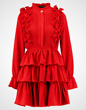 Sister Jane CERISE RUFFLE DRESS Kjole red