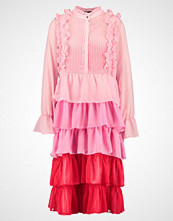 Sister Jane SOUR CHERRY TIERED DRESS Kjole pink