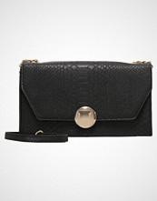 New Look VEDA SNAKE BOXY Skulderveske black