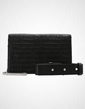 AllSaints KEEL MATTE BOX Skulderveske black