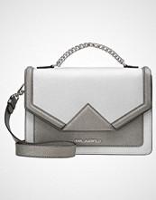 Karl Lagerfeld KLASSIK SHOULDER BAG Håndveske silver