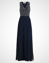 Maya Deluxe CLUSTER SEQUIN BODICE MAXI WITH BOW DETAIL Ballkjole navy