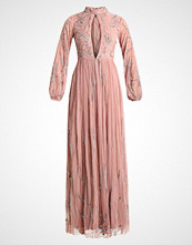 Maya Deluxe KEYHOLE FRONT ALL OVER EMBELLISHED MAXI Ballkjole pink