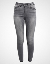 Noisy May NMLUCY ANKLE Jeans Skinny Fit medium grey denim