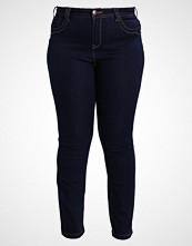 Zizzi MOLLY Slim fit jeans dark blue rinse
