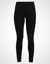 Tommy Jeans HIGH RISE SKINNY SANTANA Jeans Skinny Fit dana black stretch