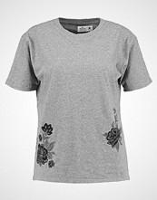 Hollister Co. Tshirts med print heather grey