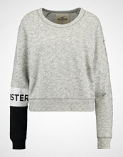 Hollister Co. SPORTY CROPPED CREW Genser grey